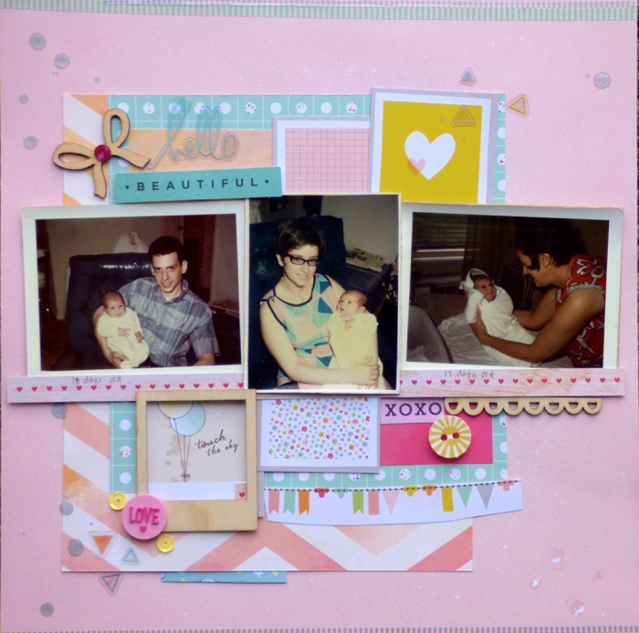 Scrapbooking Heritage Photos with Contemporary Product | Devra Hunt | Get It Scrapped