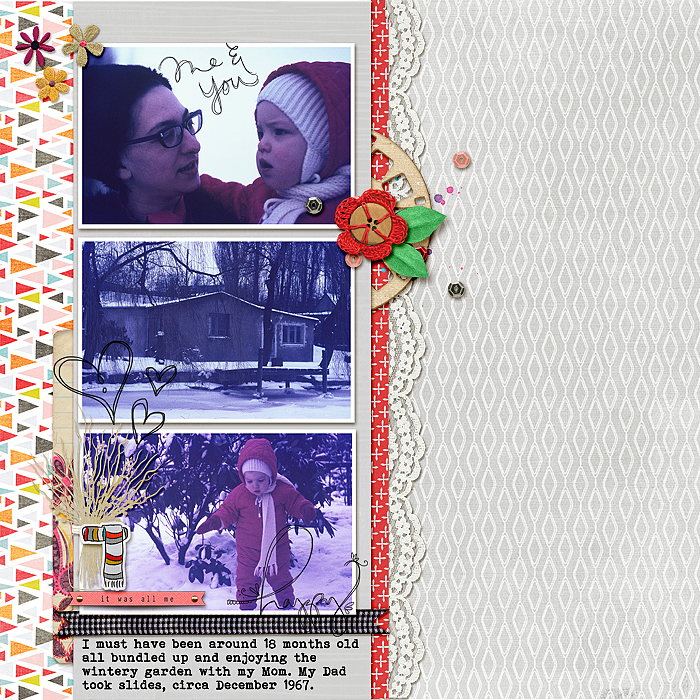 Scrapbooking Heritage Photos with Contemporary Product | Stefanie Semple | Get It Scrapped