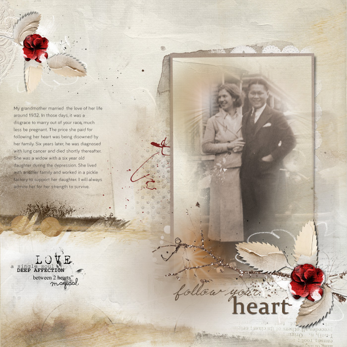 Scrapbooking Heritage Photos with Contemporary Product | Terry Billman| Get It Scrapped