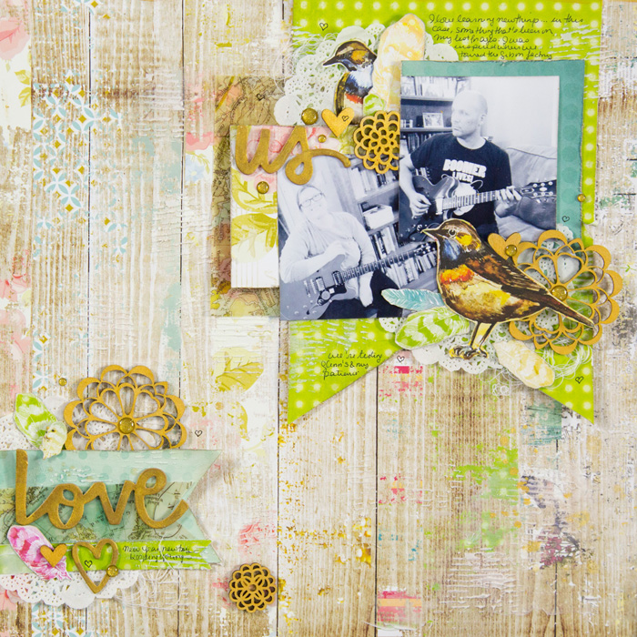 Scrapbooking Ideas for Embellishing with Clusters |Gretchen Henninger| Get It Scrapped