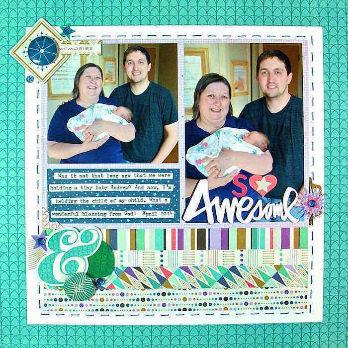 Scrapbooking Ideas for Embellishing with Clusters | Sue Althouse| Get It Scrapped