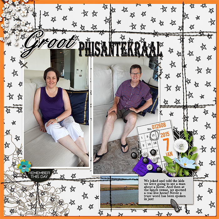 Scrapbooking Ideas for Embellishing with Clusters | Stefanie Semple| Get It Scrapped