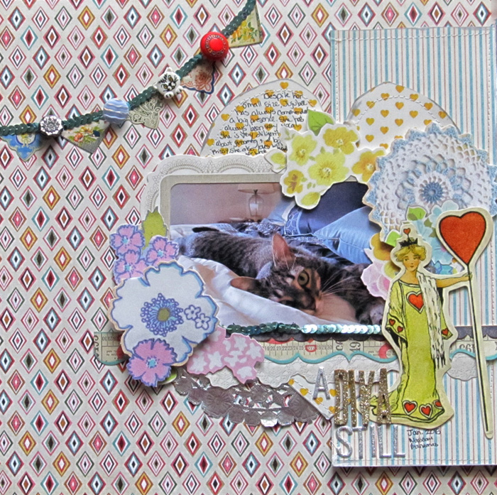 Ideas for Making the Kitsch Style Work on Your Scrapbook Pages | Christy Strickler | Get It Scrapped