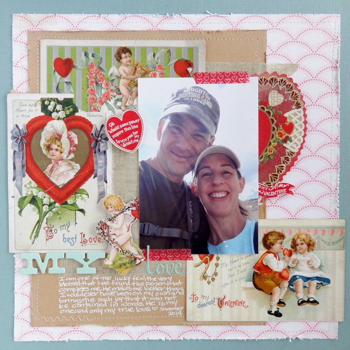 Ideas for Making the Kitsch Style Work on Your Scrapbook Pages | Michelle Houghton | Get It Scrapped