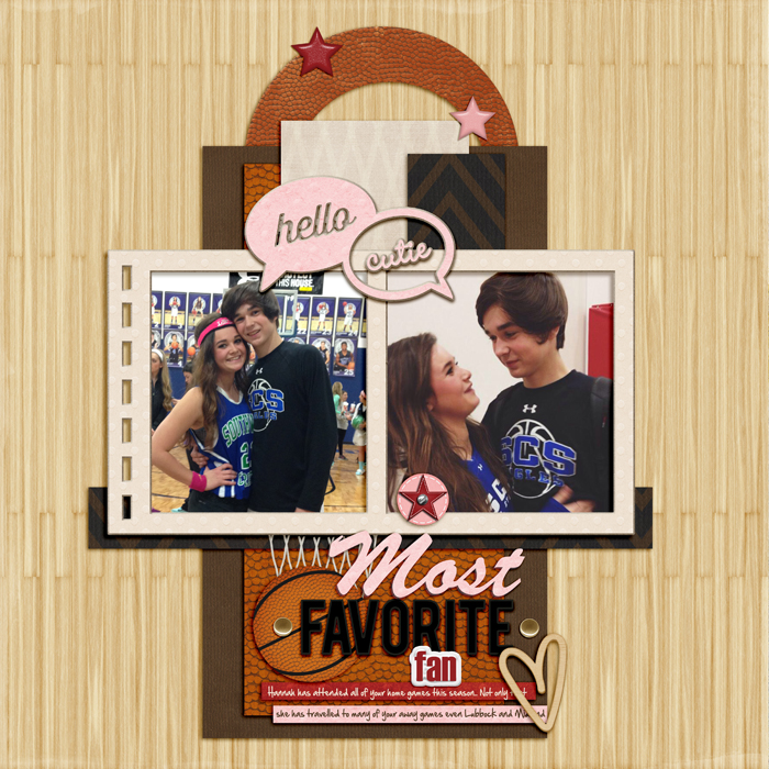 Scrapbook Page Sketch and Template #100   Ronnie Crowley   Get It Scrapped