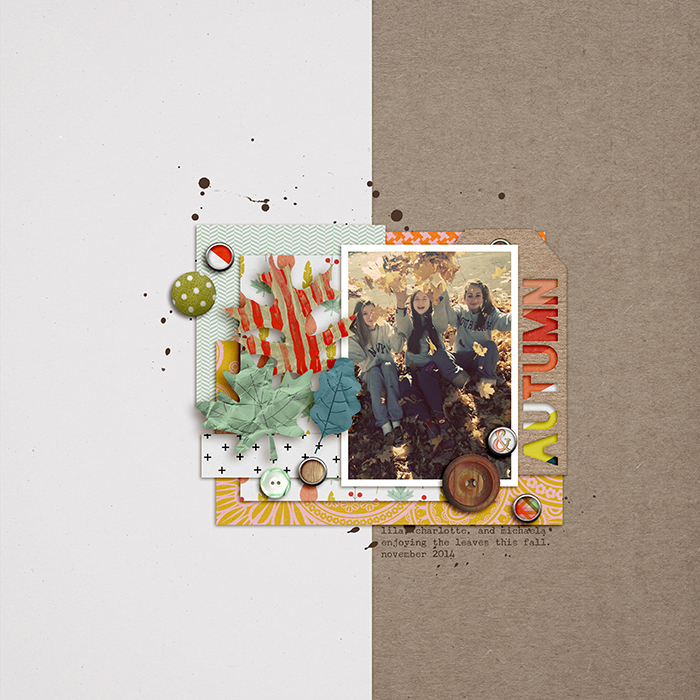 Scrapbook Page Sketch and Template #99| Celeste Smith| Get It Scrapped