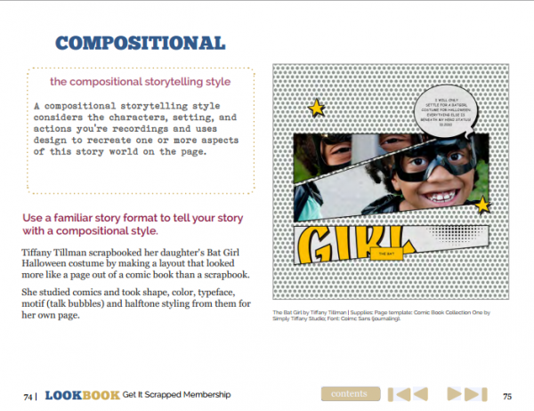 Scrapbooking Ideas for Visual Storytelling with the Compositional Story Style | Get It Scrapped
