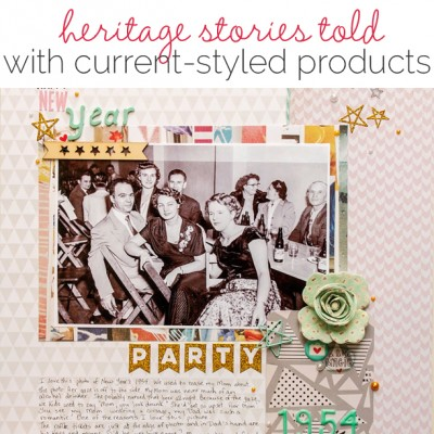 Idea Round Up | 5 Ideas for Scrapbooking Your Family Heritage | Get It Scrapped
