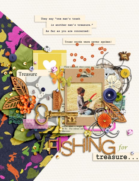 Ideas for Making the Kitsch Style Work on Your Scrapbook Pages | Amy Kingsford | Get It Scrapped