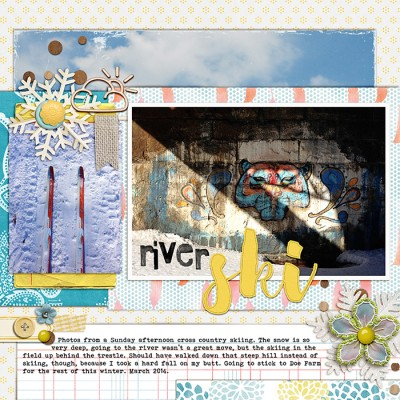 Ideas for Scrapbook Page Embellishment with Clusters | Debbie Hodge | Get It Scrapped