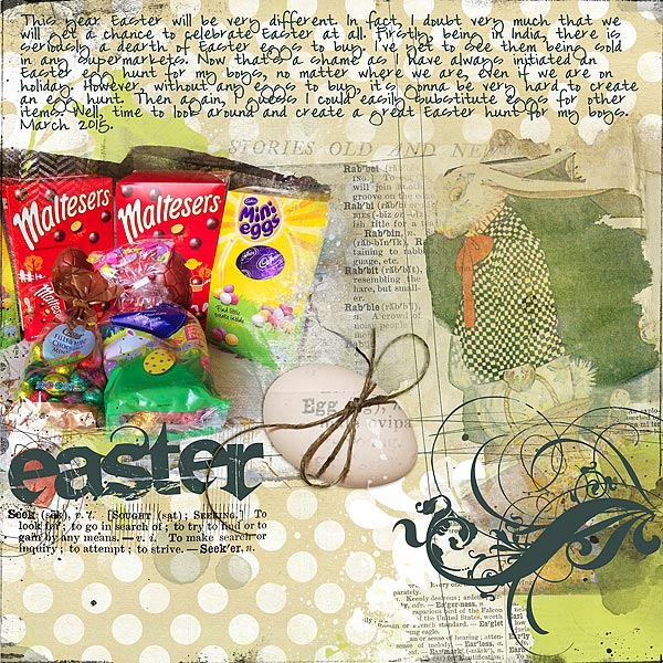 Scrapbooking Ideas for Telling Stories about Easter & Passover | Audrey Tan | Get It Scrapped