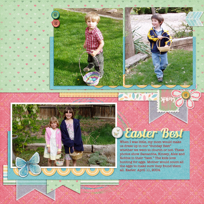 Scrapbooking Ideas for Telling Stories about Easter & Passover | Jennifer Kellogg | Get It Scrapped