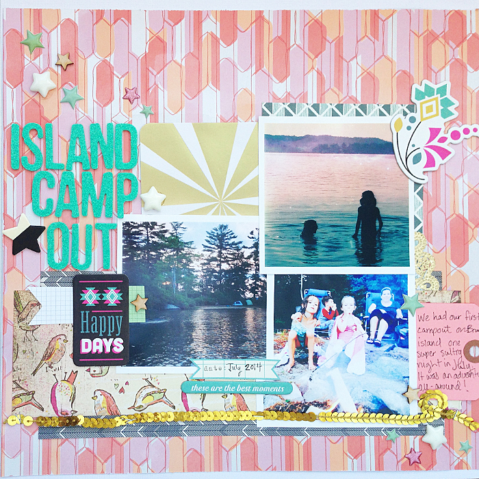 Scrapbooking Ideas for Embellishing with Clusters | Judean Patton-Clark | Get It Scrapped