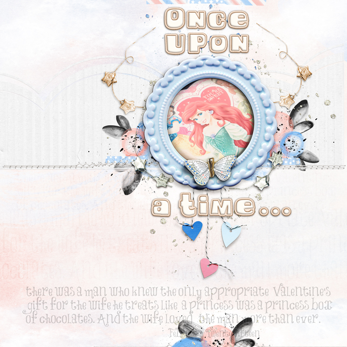 Ideas for Scrapbook Page Story Telling with A Fairy Tale Style | Carrie Arick | Get It Scrapped