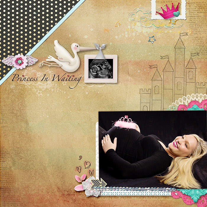 Ideas for Scrapbook Page Story Telling with A Fairy Tale Style | Deborah Wagner | Get It Scrapped