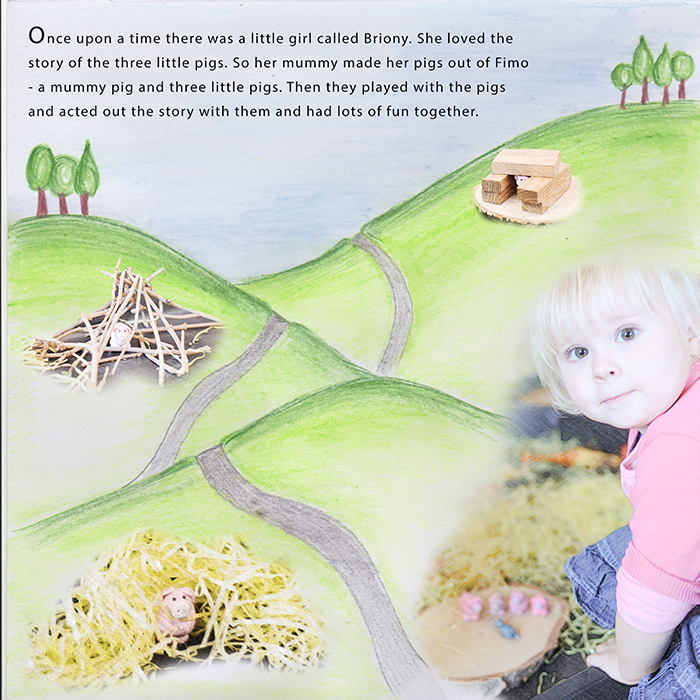 Ideas for Scrapbook Page Story Telling with A Fairy Tale Style | Vicki Hibbins | Get It Scrapped