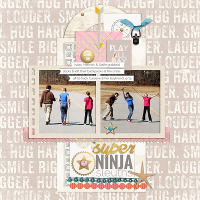 Scrapbook Page Sketch and Template #100   Debbie Hodge   Get It Scrapped