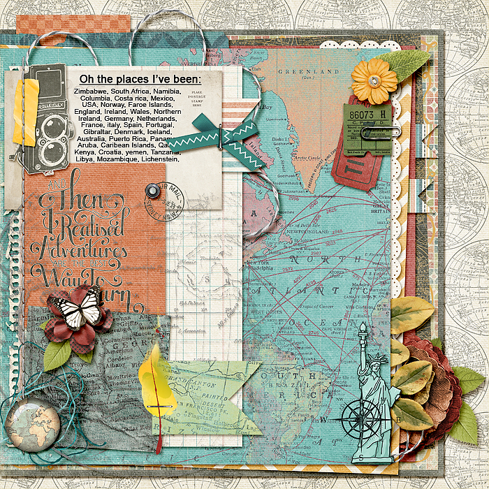 Start Your Next Scrapbook Page Here | Page Prompts No. 6 | Stefanie Semple | Get It Scrapped