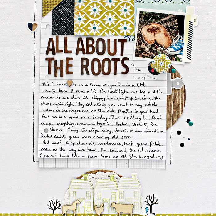 Scrapbooking Ideas for Visual Storytelling with the Reflective Story Style | Sian Fair | Get It Scrapped