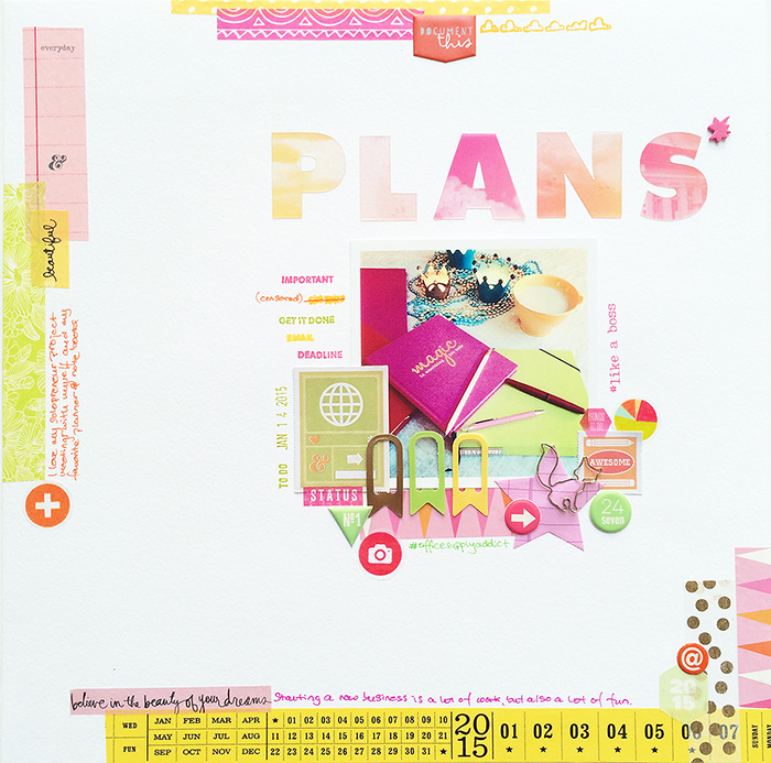 Ideas for Going from Planner to Scrapbook Page | Margareta Carlsson | Get It Scrapped