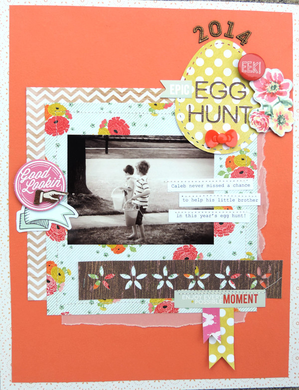 Scrapbooking Ideas for Telling Stories about Easter & Passover | Amy Kingsford | Get It Scrapped