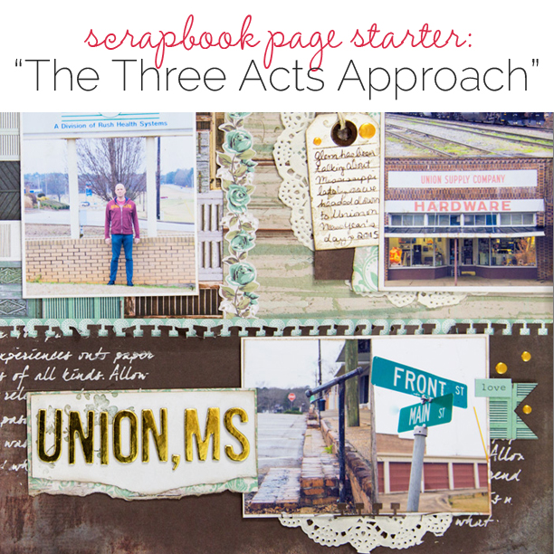 Scrapbook Page Starter: Use Page Compositions Built on Threes | Get It Scrapped