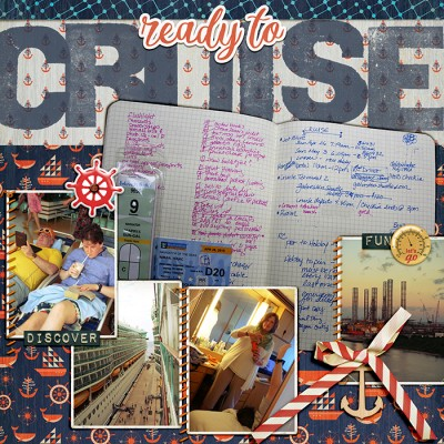 Ideas for Going from Planner to Scrapbook Page | Debbie Hodge | Get It Scrapped