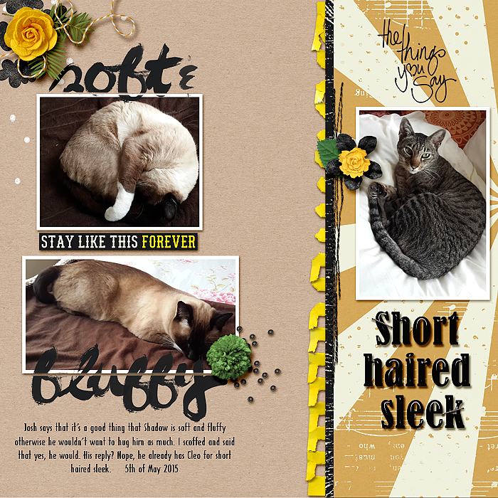 Scrapbooking Ideas for Working with Furry and Fuzzy Materials| Stefanie Semple | Get It Scrapped