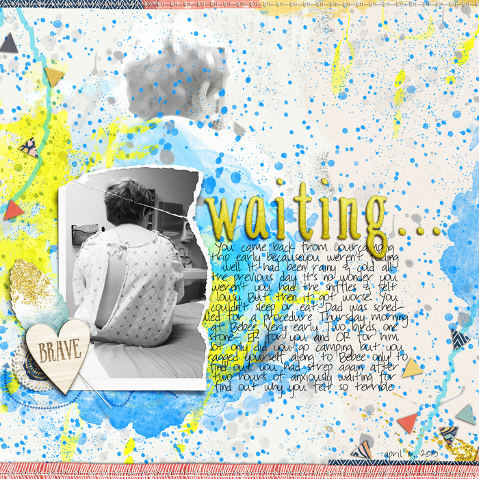 Scrapbooking Ideas for InkPrint Techniques on the Scrapbook Page| Carrie Arick | Get It Scrapped
