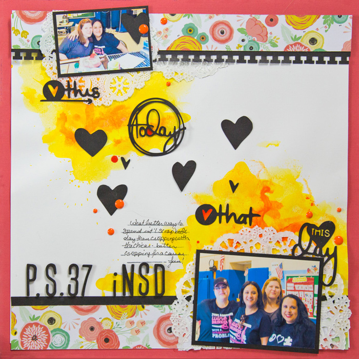 Scrapbooking Ideas for InkPrint Techniques on the Scrapbook Page| Gretchen Henninger | Get It Scrapped