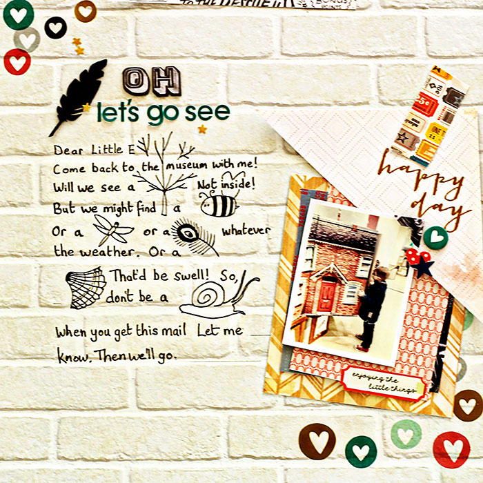 Scrapbooking Ideas for Adding Pizzazz to Your Journaling  | Sian Fair | Get It Scrapped