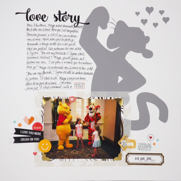 Scrapbooking Ideas for Using Trendy Long Shadows on the Scrapbook Page | Marie-Pierre Capistran | Get It Scrapped