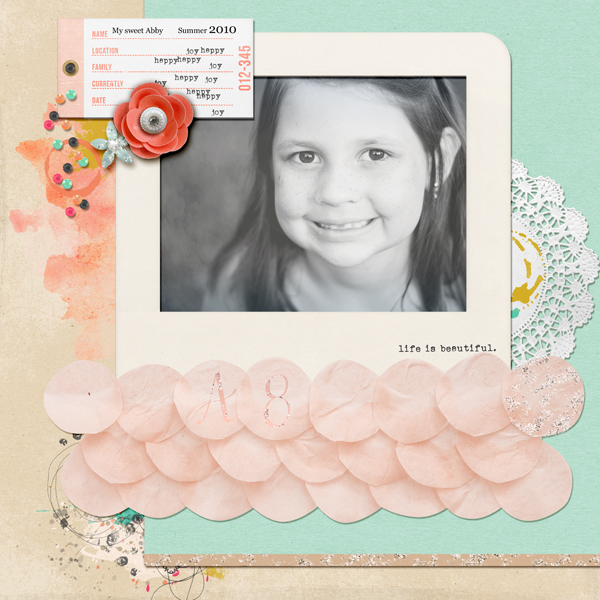 Scrapbook Page Ideas for Taking Inspiration from Wedding Cakes   Kelly Pring   Get It Scrapped