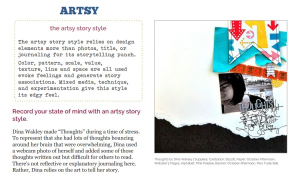 Scrapbooking Ideas for Visual Storytelling with the Artsy Story Style | Get It Scrapped