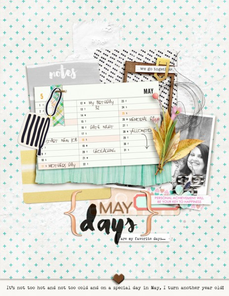 Ideas for Going from Planner to Scrapbook Page | Amy Kingsford | Get It Scrapped
