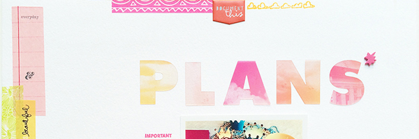 Ideas for Going from Planner to Scrapbook Page