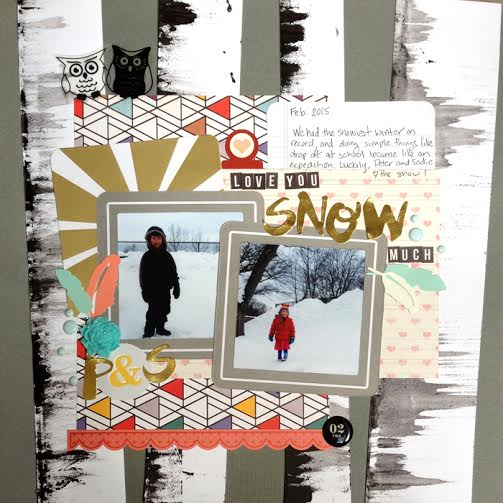 Scrapbook Page Ideas for Taking Inspiration from Wedding Cakes   Judean Patten-Clark   Get It Scrapped