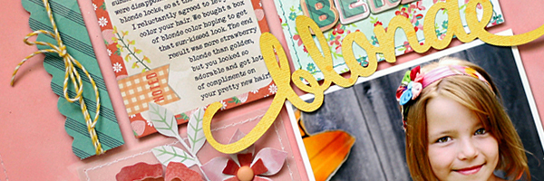 5 Liftable Scrapbook Page Ideas from a Layout by Lisa Dickinson