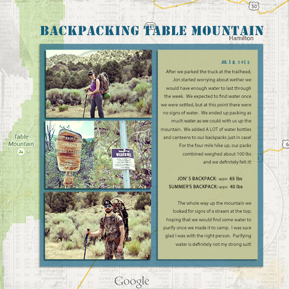 Ideas for Scrapbook Pages About Camping | Summer Christiansen | Get It Scrapped