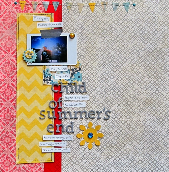 Scrapbooking Ideas for Double Exposure Techniques on the Scrapbook Page | Christy Strickler | Get It Scrapped