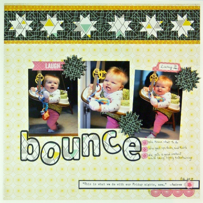 Scrapbooking Ideas and Techniques for Adding Relaxed-Geometry Patterns to the Page | Sue Althouse | Get It Scrapped
