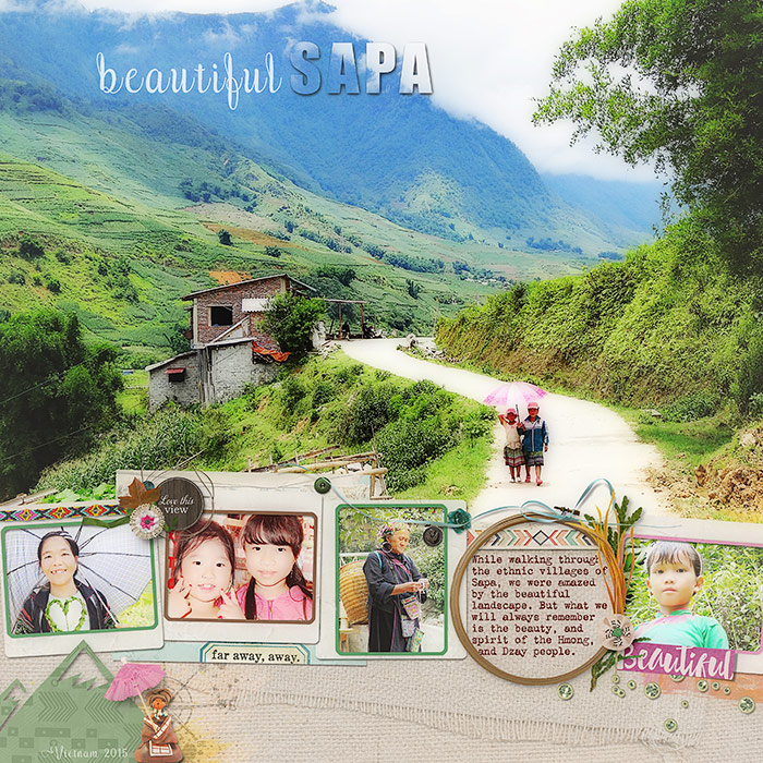 Scrapbooking Ideas for Pages About Taking A Walk   Deborah Wagner   Get It Scrapped