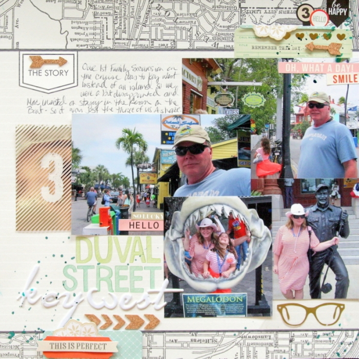 Scrapbooking Ideas for Pages About Taking A Walk | Katie Scott| Get It Scrapped