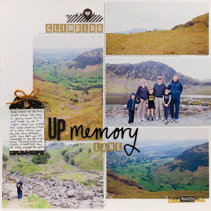 Scrapbooking Ideas for Pages About Taking A Walk   Kristy T   Get It Scrapped