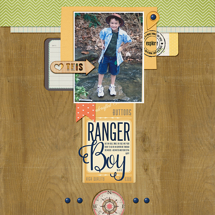 Scrapbooking Ideas for Pages About Taking A Walk | Ronnie Crowley | Get It Scrapped
