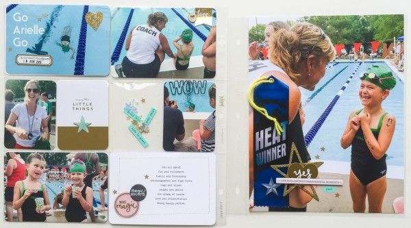 Type on Project Life and Pocket Scrapbook Pages | Marie-Pierre Capistran | Get It Scrapped