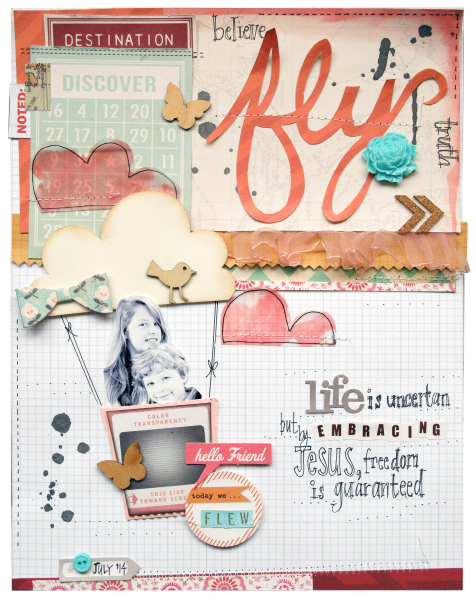 Scrapbooking Ideas for Visual Storytelling with the Allegorist Story Style | Kim Watson | Get It Scrapped