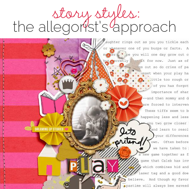 Scrapbooking Ideas for Visual Storytelling with the Allegorist Story Style | Get It Scrapped