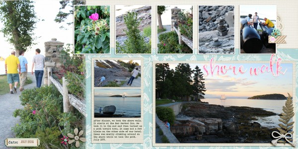 Scrapbooking Ideas for Pages About Taking A Walk   Katie Scott  Get It Scrapped