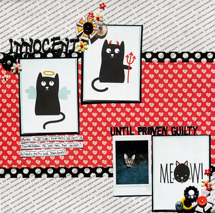 Scrapbooking Ideas for Using Project Life and Pocket Cards on Traditional Layouts | Christy Strickler | Get It Scrapped